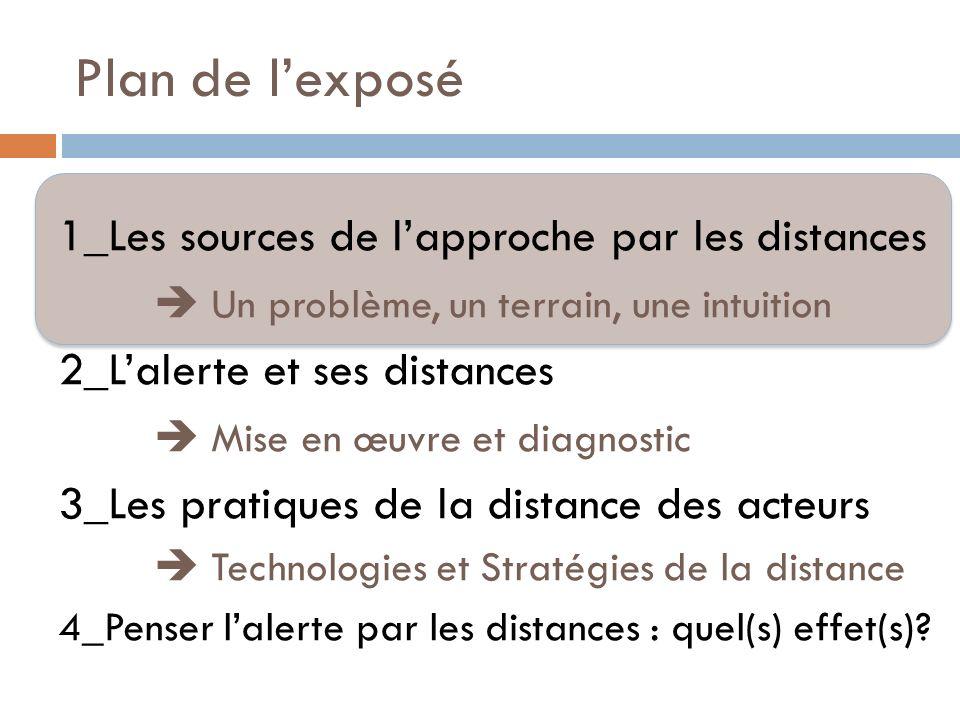 De la nécessité de repenser lalerte Lalerte aux crues rapides : un cas limite Contrainte temporelle + limites modèles prévision Limites du « paradigme prévisionniste » (Chateauraynaud et Torny 1999) Comment fait-on « quand même » lalerte .