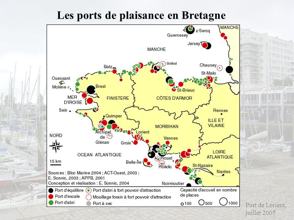 Les ports de plaisance en Bretagne Port de Lorient, juillet 2005