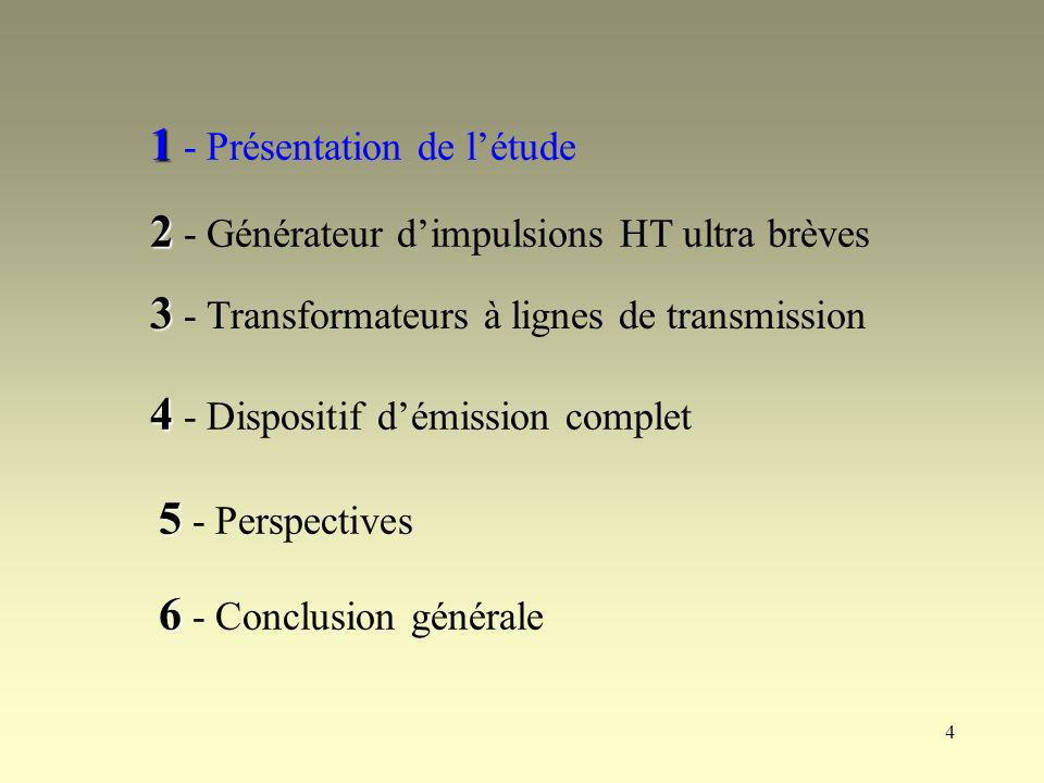 65 Comparaison modélisation expérimentale / numérique