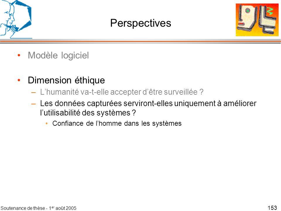 Soutenance de thèse - 1 er août 2005 154 Contexte en Interaction Homme-Machine le contexteur Gaëtan Rey Equipe IIHM, Laboratoire CLIPS-IMAG, Grenoble, France Président du Jury :James L.