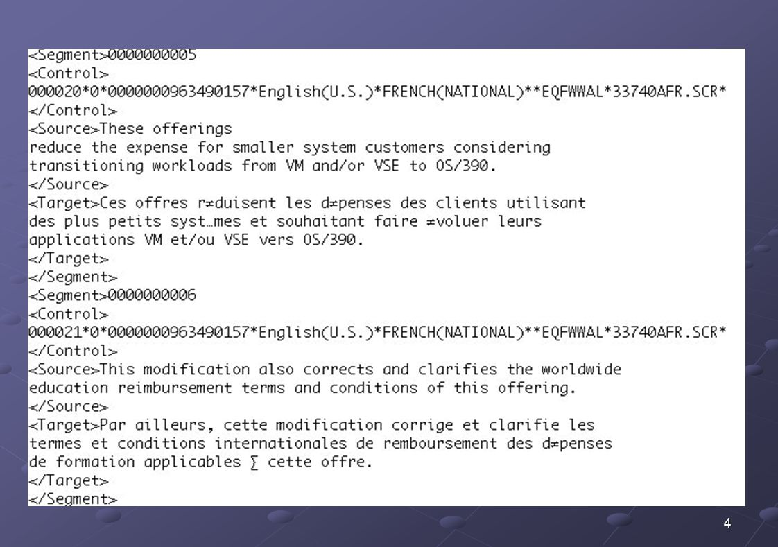 35 Echantillon briques traductionnelles defaultpar défaut databasebase de données ClickCliquez sur passwordmot de passe alltous les outputde sortie viewpointpoint de vue will besera CannotImpossible de cannotne peut pas cannotne pouvez pas BuidtimeClient de modélisation asau fur et à mesure que