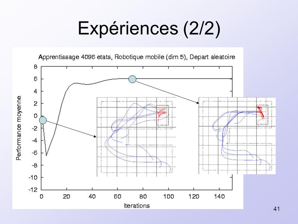 41 Expériences (2/2)