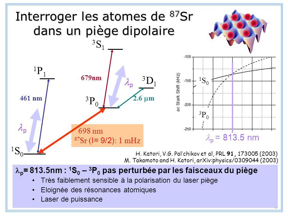 9 II. La source datomes froids de strontium
