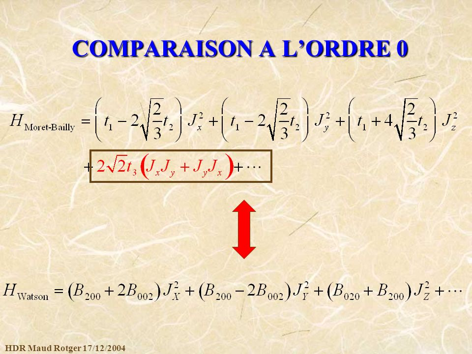 HDR Maud Rotger 17/12/2004 COMPARAISON A LORDRE 0