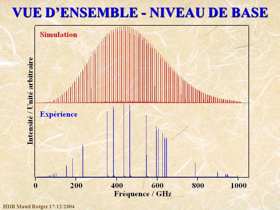 HDR Maud Rotger 17/12/2004 VUE DENSEMBLE - NIVEAU DE BASE