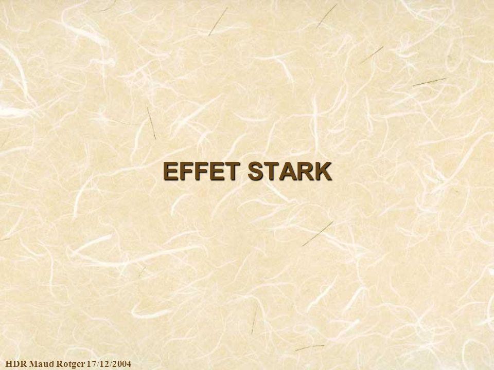 HDR Maud Rotger 17/12/2004 EFFET STARK