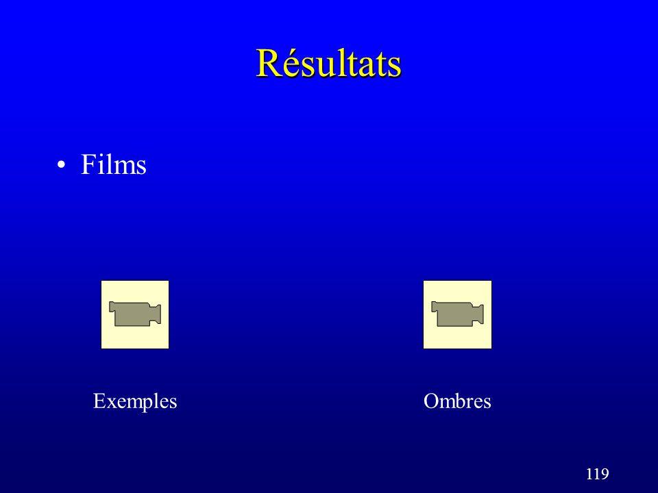 119 Résultats Films ExemplesOmbres