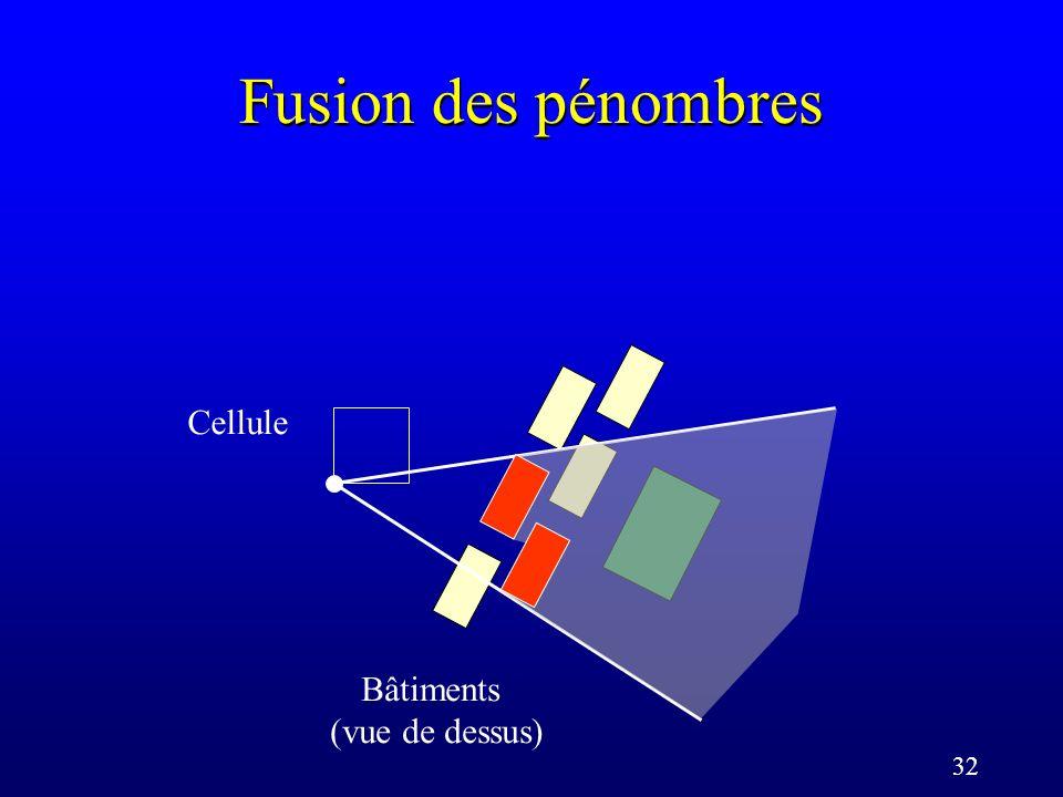 32 Fusion des pénombres Cellule Bâtiments (vue de dessus)
