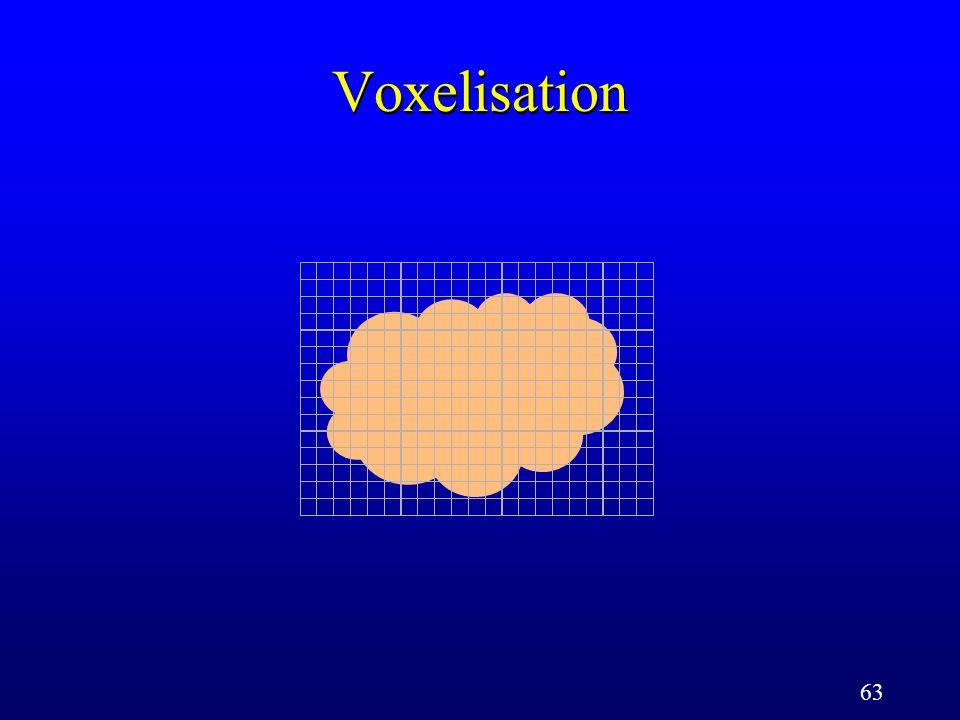 63 Voxelisation