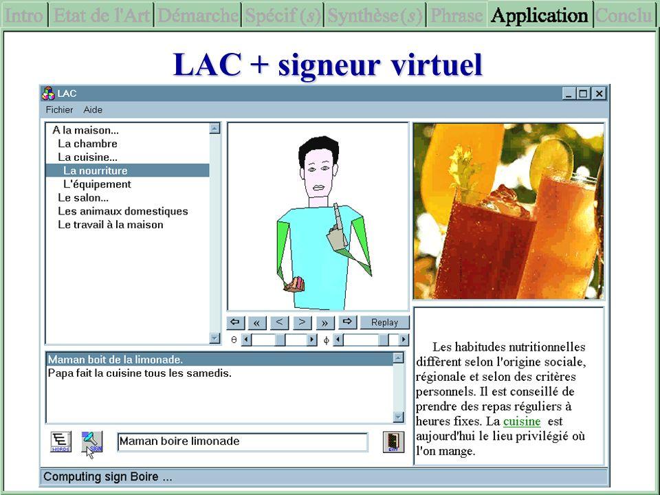 LAC + signeur virtuel