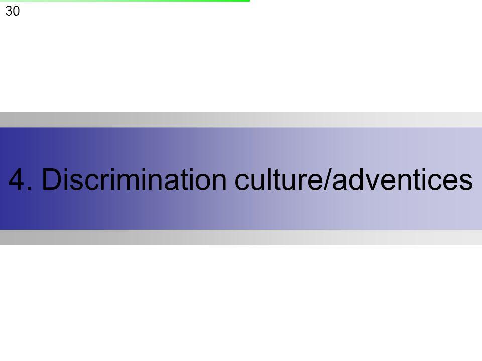 30 4. Discrimination culture/adventices