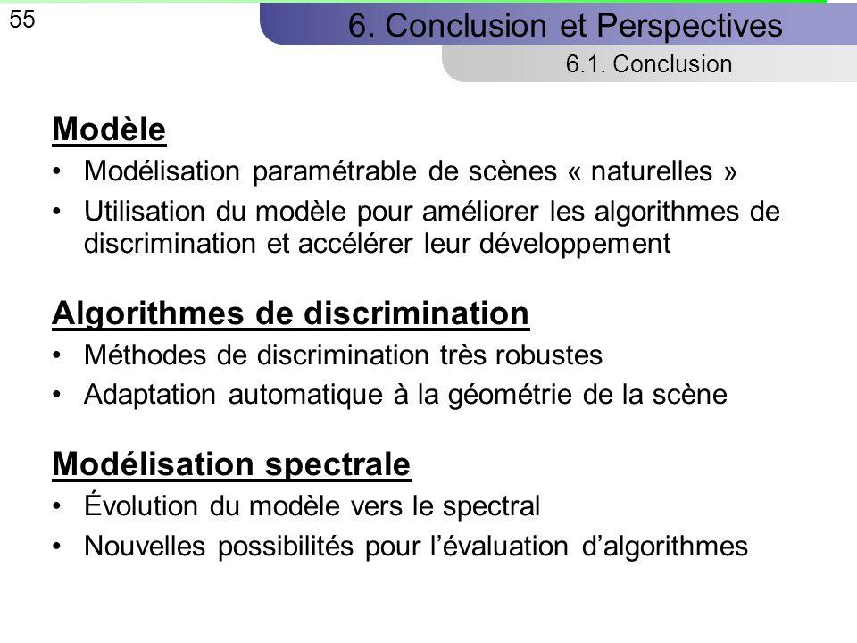 55 6.Conclusion et Perspectives 6.1.