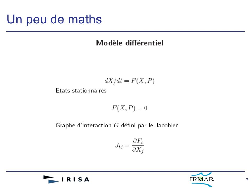 7 Un peu de maths