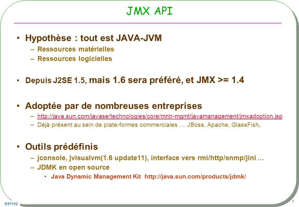 NSY102 28 jvisualVM, puissant …