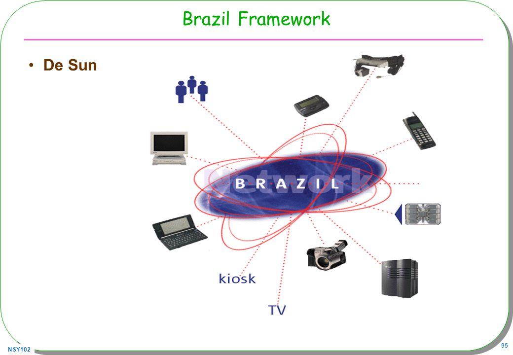 NSY102 95 Brazil Framework De Sun