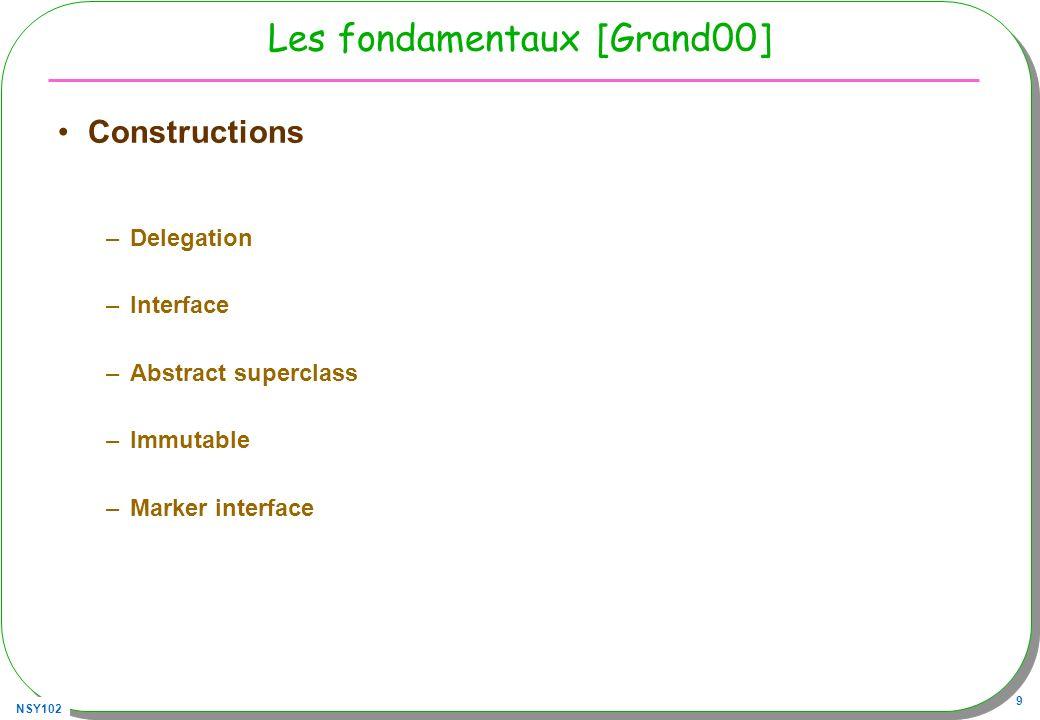 NSY102 60 Observer : mise en oeuvre Observable o = new ConcreteObservable(); Observer obs1= new ConcreteObserver(); o.addObserver(obs1); o.setState(3); // obs1 est réveillé, notifié Observer obs2= new ConcreteObserver(); o.addObserver(obs2); o.setState(33); // obs1 et obs2 sont réveillés, notifiés …