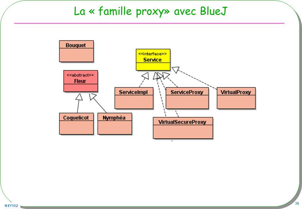 NSY102 36 La « famille proxy» avec BlueJ