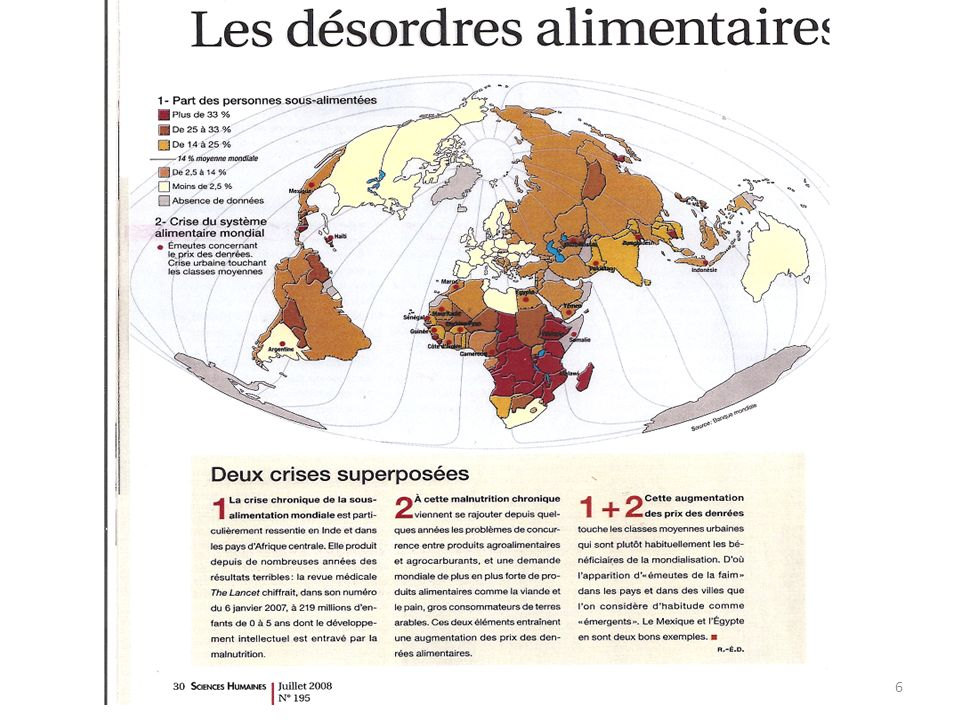 Article dAlternatives Internationales décembre 2008 Le monde pourrait nourrir le monde Oui, la planète pourra rassasier 9 milliards d hommes en 2050 sans saccager l environnement.