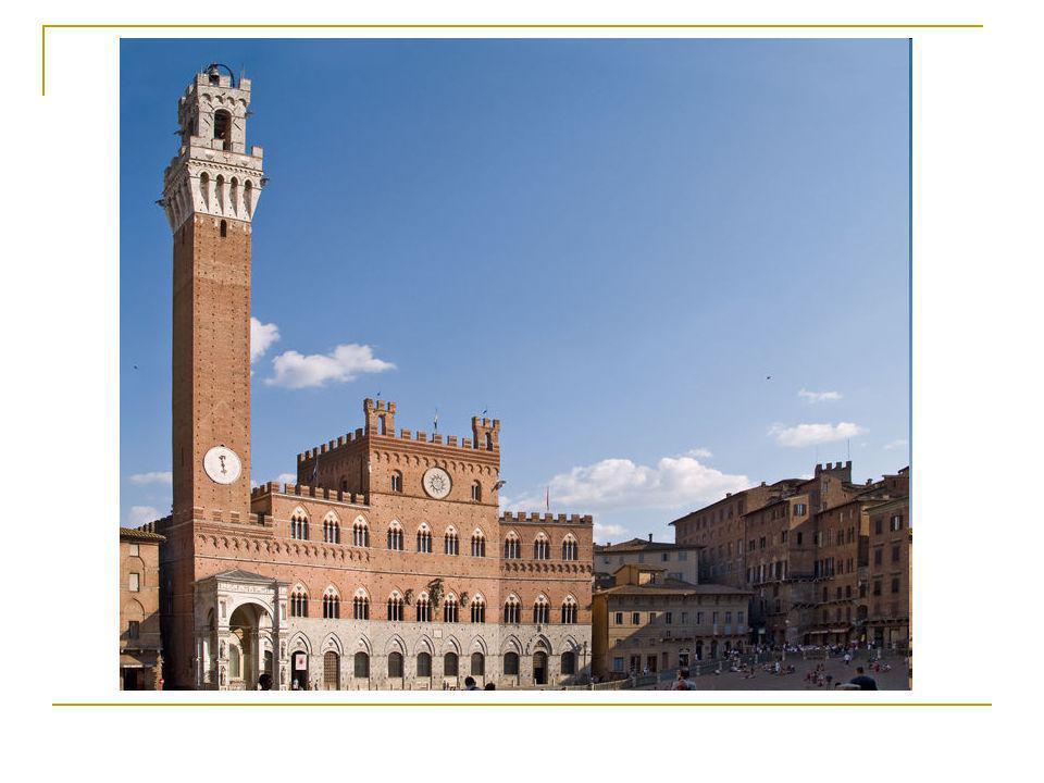 Le Palazzo Publico de Sienne: Un édifice civil qui illustre le gothique toscan.