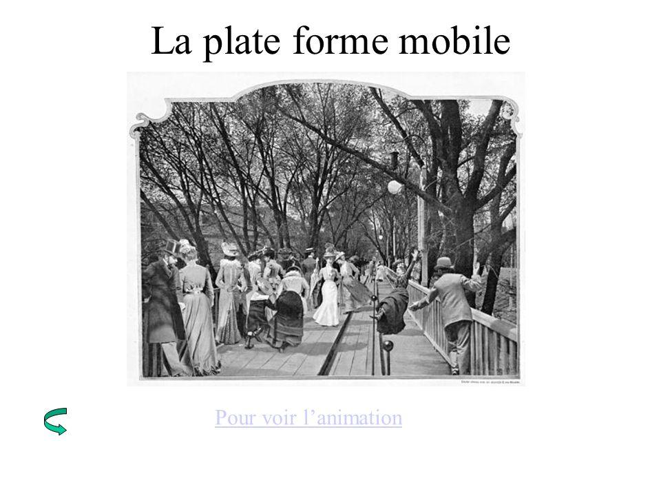La plate forme mobile Pour voir lanimation