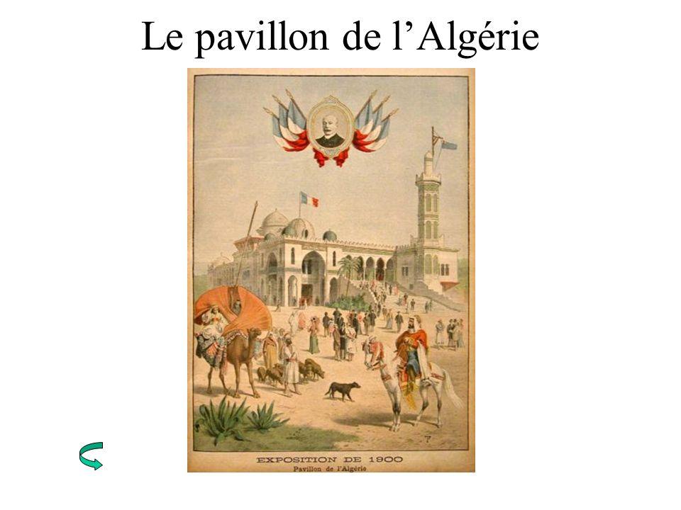 Le pavillon de lAlgérie