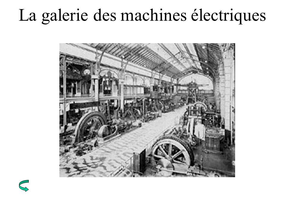 La galerie des machines électriques