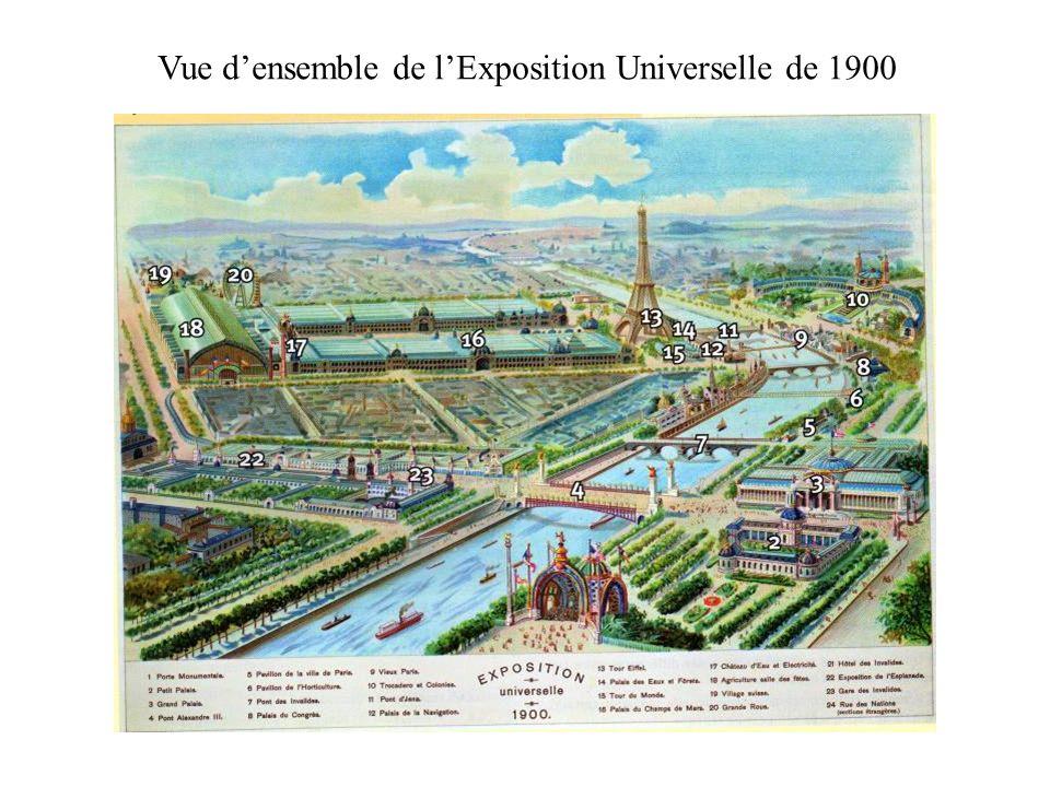 Vue densemble de lExposition Universelle de 1900