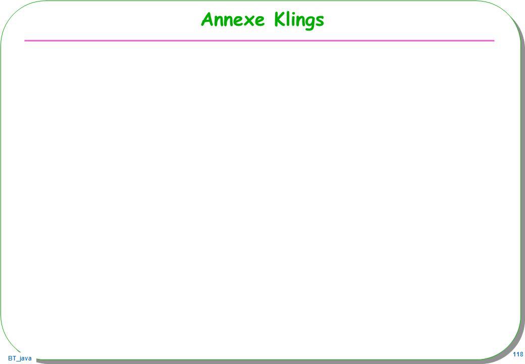 BT_java 118 Annexe Klings