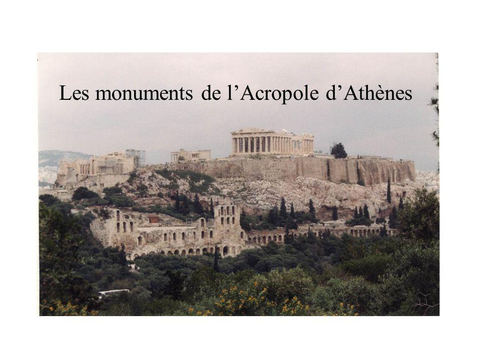 Les monuments de lAcropole dAthènes