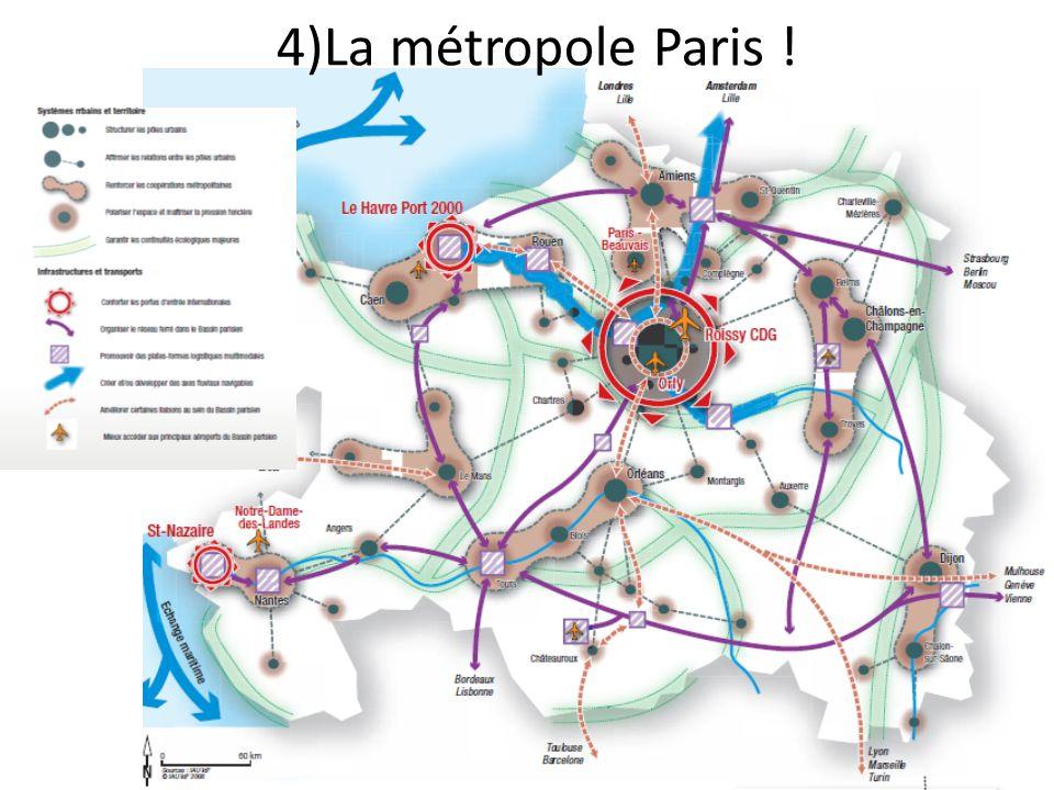 4)La métropole Paris !
