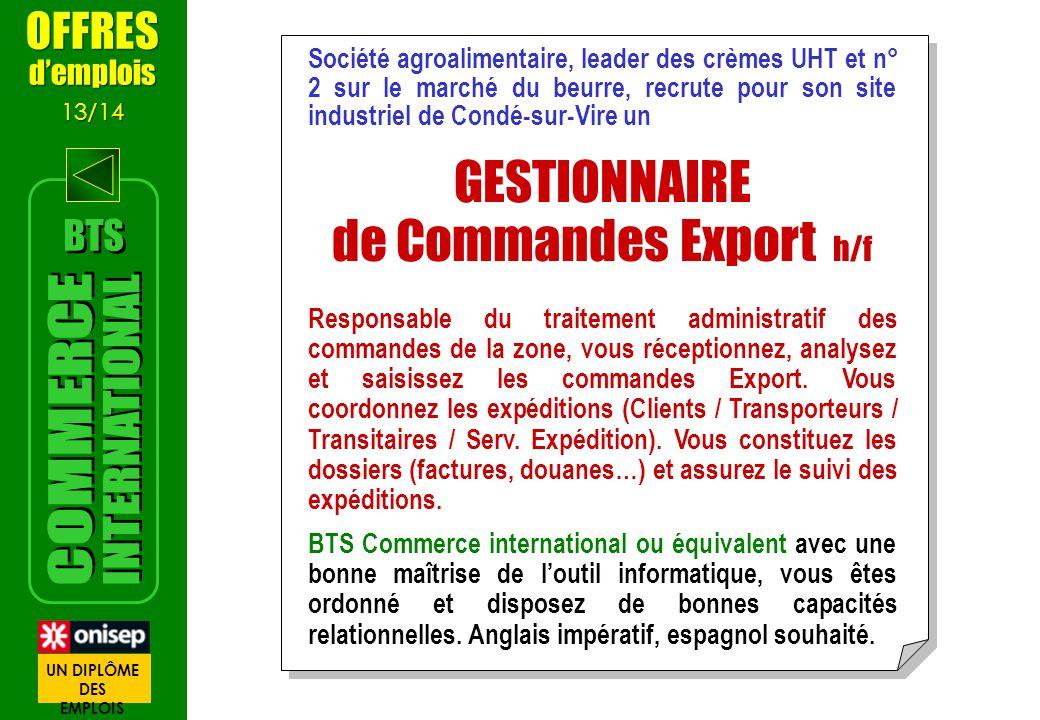 Société agroalimentaire, leader des crèmes UHT et n° 2 sur le marché du beurre, recrute pour son site industriel de Condé-sur-Vire un GESTIONNAIRE de