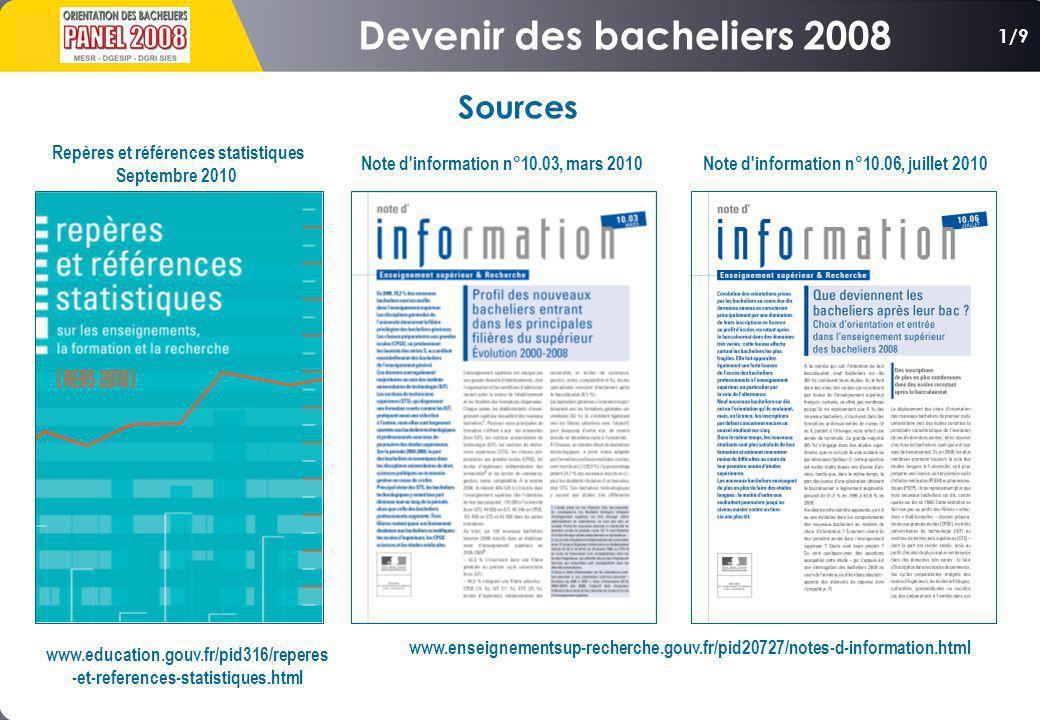 www.education.gouv.fr/pid316/reperes -et-references-statistiques.html Repères et références statistiques Septembre 2010 Note d'information n°10.03, ma
