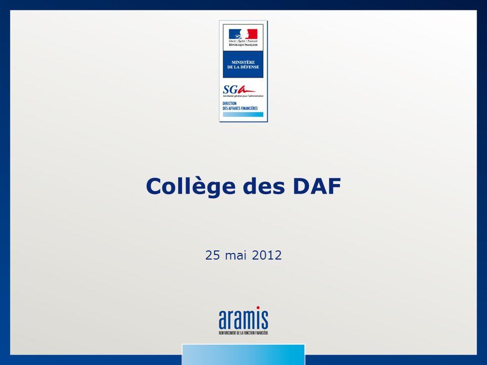 Collège des DAF 25 mai 2012