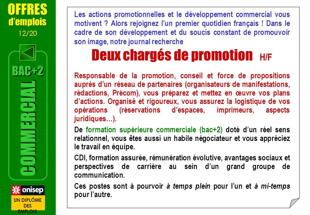 Les actions promotionnelles et le développement commercial vous motivent ? Alors rejoignez lun premier quotidien français ! Dans le cadre de son dével