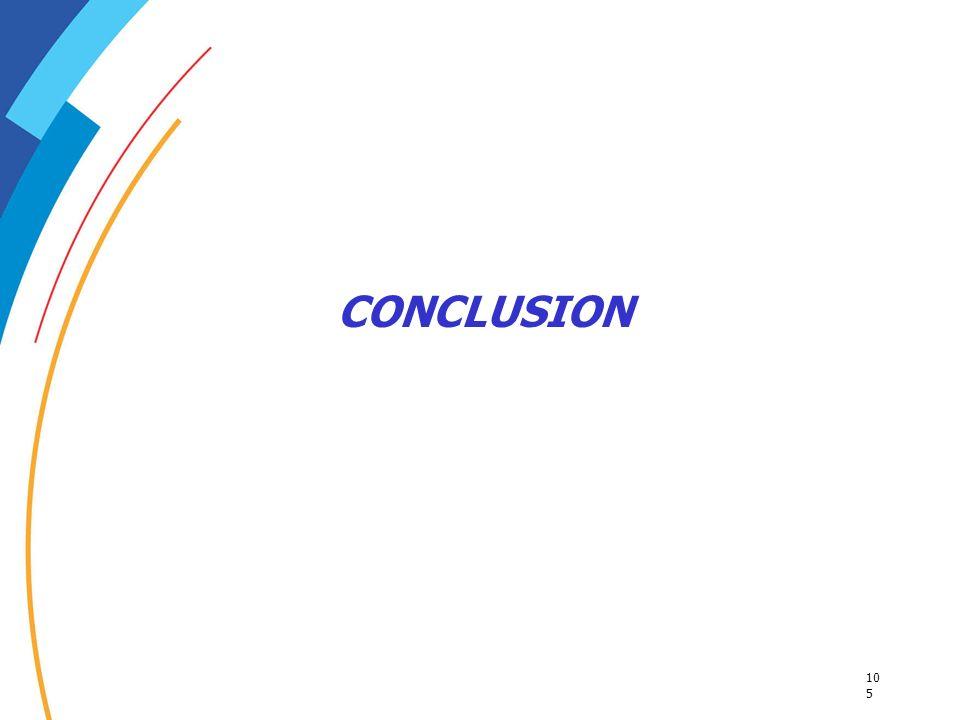 10 5 CONCLUSION