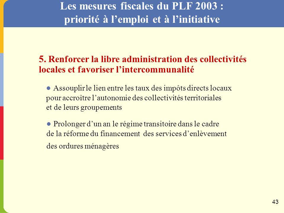 4. Simplifier limpôt et les relations avec ladministration fiscale Amorcer la réforme du régime fiscal des distributions Simplifier les modalités de d