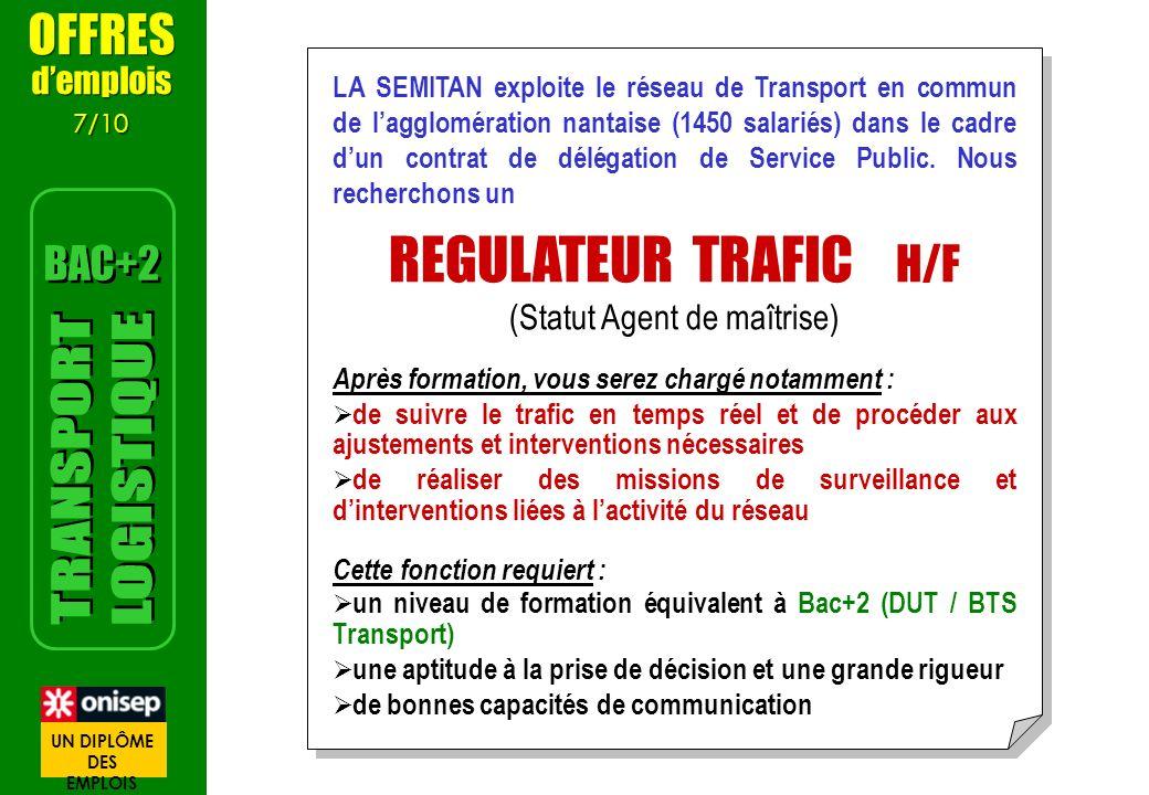 LA SEMITAN exploite le réseau de Transport en commun de lagglomération nantaise (1450 salariés) dans le cadre dun contrat de délégation de Service Pub