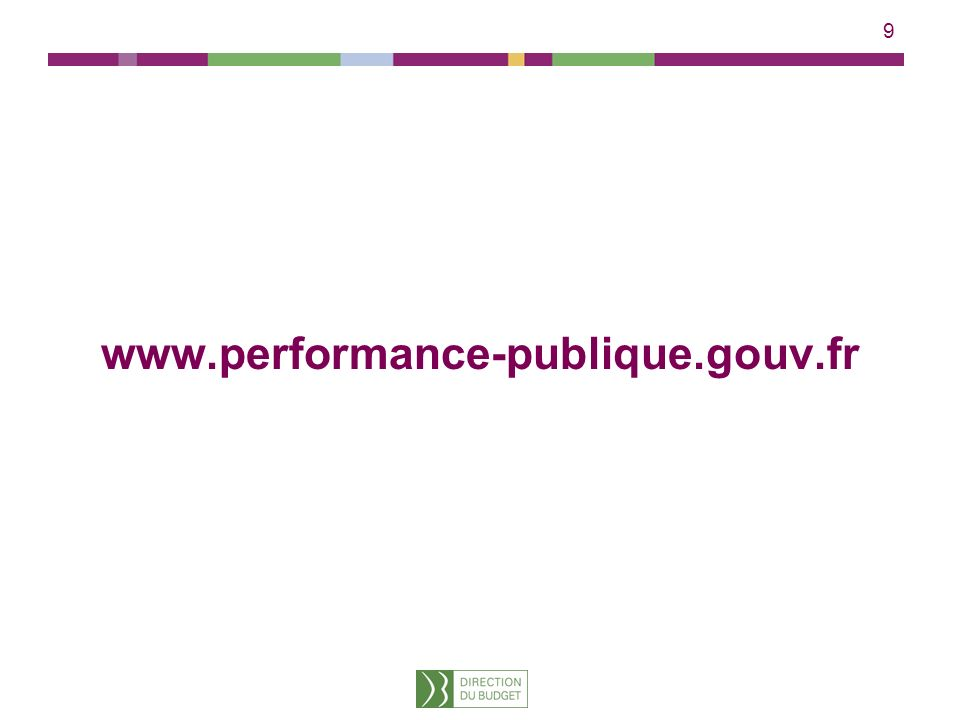 9 www.performance-publique.gouv.fr