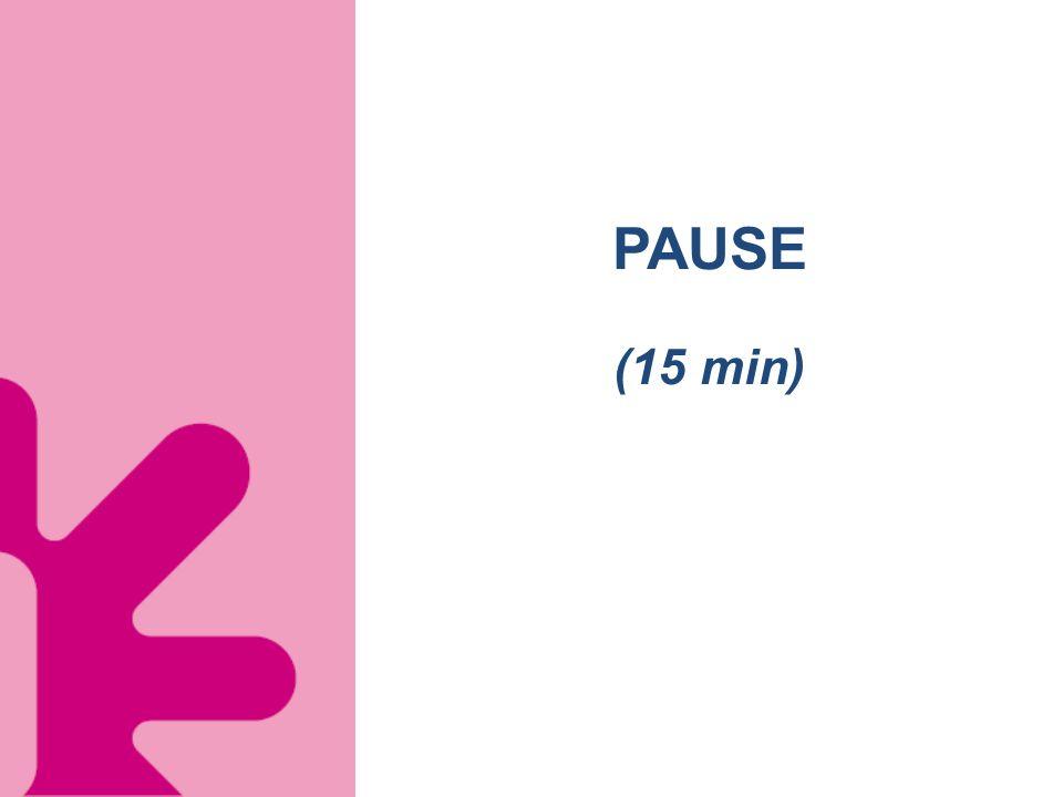 PAUSE (15 min)
