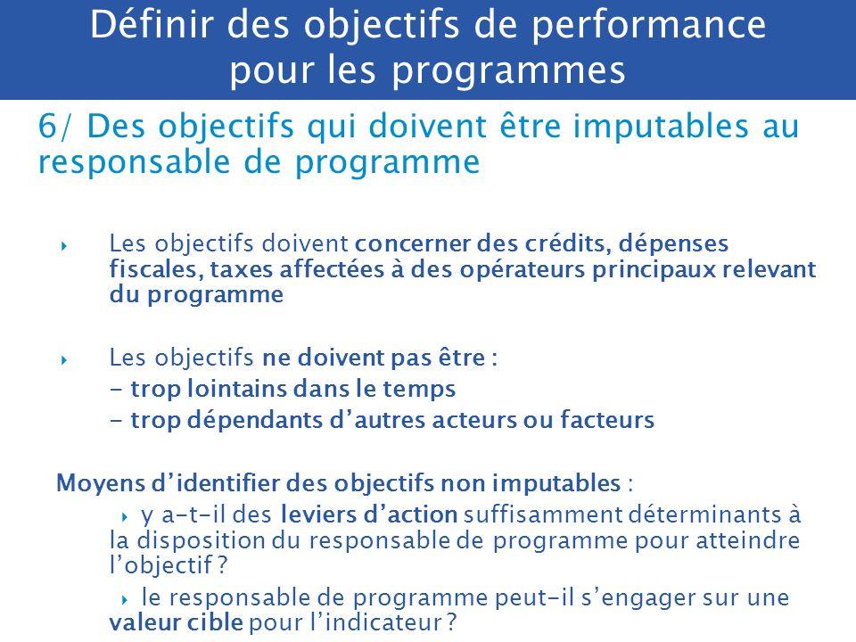 Présentation des objectifs dans les PAP N°, catégorie (citoyen/usager/ contribuable), intitulé (verbe à linfinitif) Commentaire (motivations du choix
