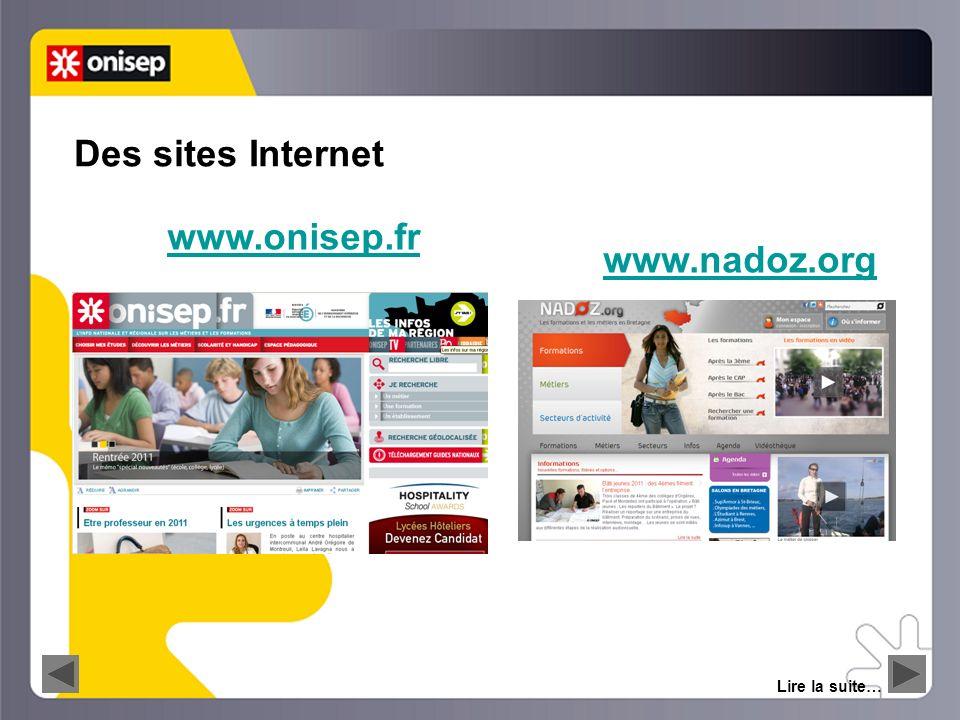 LE WEBCLASSEUR information orientation 5 Lire la suite… Des outils dinformation multimédias