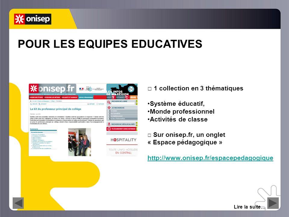 LE WEBCLASSEUR information orientation 8 Sur onisep.fr, des sites thématiques Lire la suite… www.onisep.fr/Voie-Pro http://mavoieproeurope.onisep.fr http://mavoielitteraire.onisep.fr http://mavoiescientifique.onisep.fr http://mavoieeconomique.onisep.fr http://objectifegalite.onisep.fr http://www.masecondechance.frhttp://www.masecondechance.fr