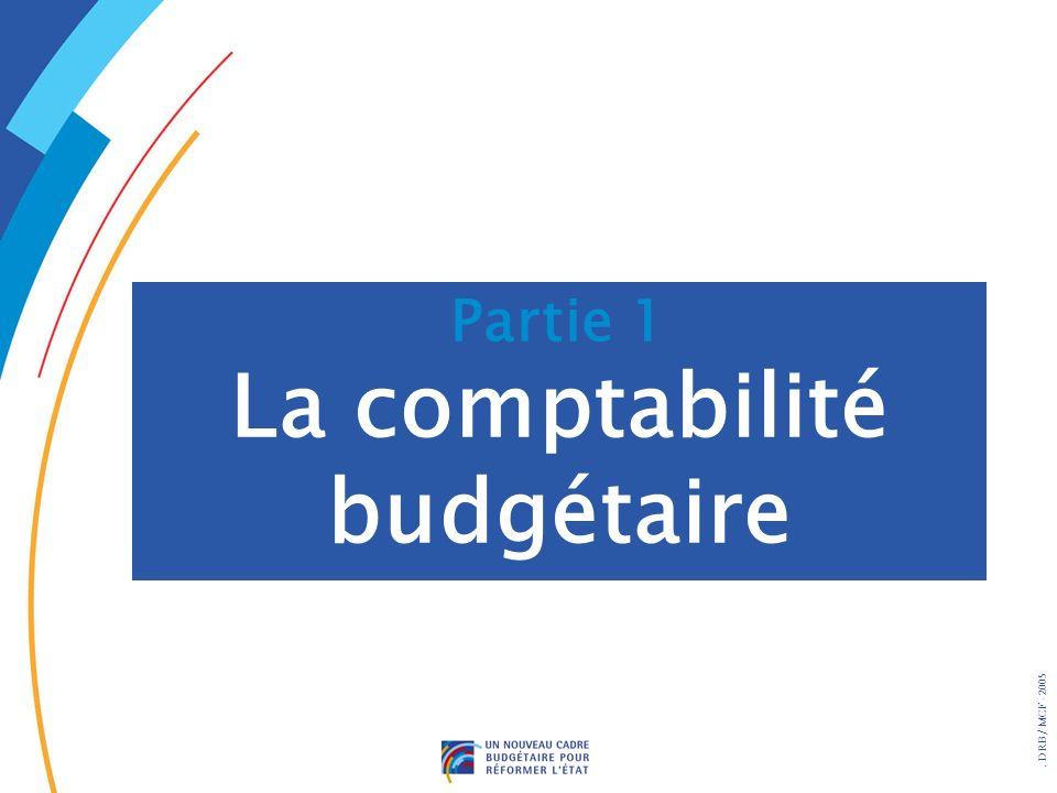 . DRB/ MCF - 2005 La comptabilité générale permet : w De connaître la situation financière w De mesurer les coûts w Daider au pilotage et à la gestion Lintérêt de la comptabilité générale pour lEtat