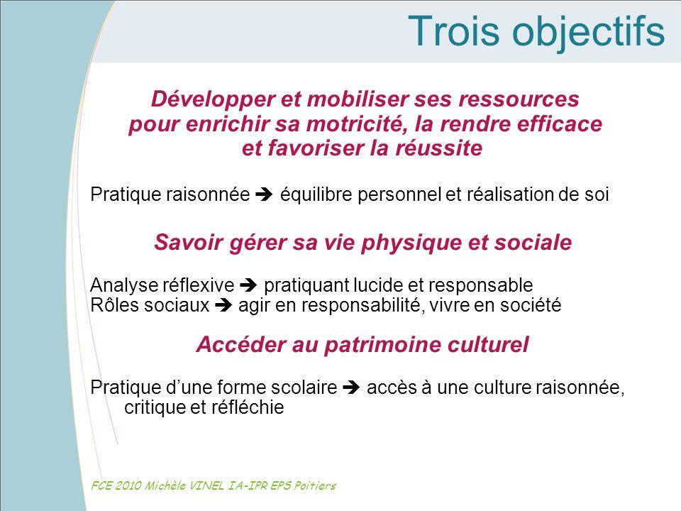 Analyser une compétence FCE 2010 Michèle VINEL IA-IPR EPS Poitiers Demi-fond Niveau 3 : Pour produire la meilleure performance sur une série de courses, se préparer et répartir son effort grâce à une gestion raisonnée de ses ressources.