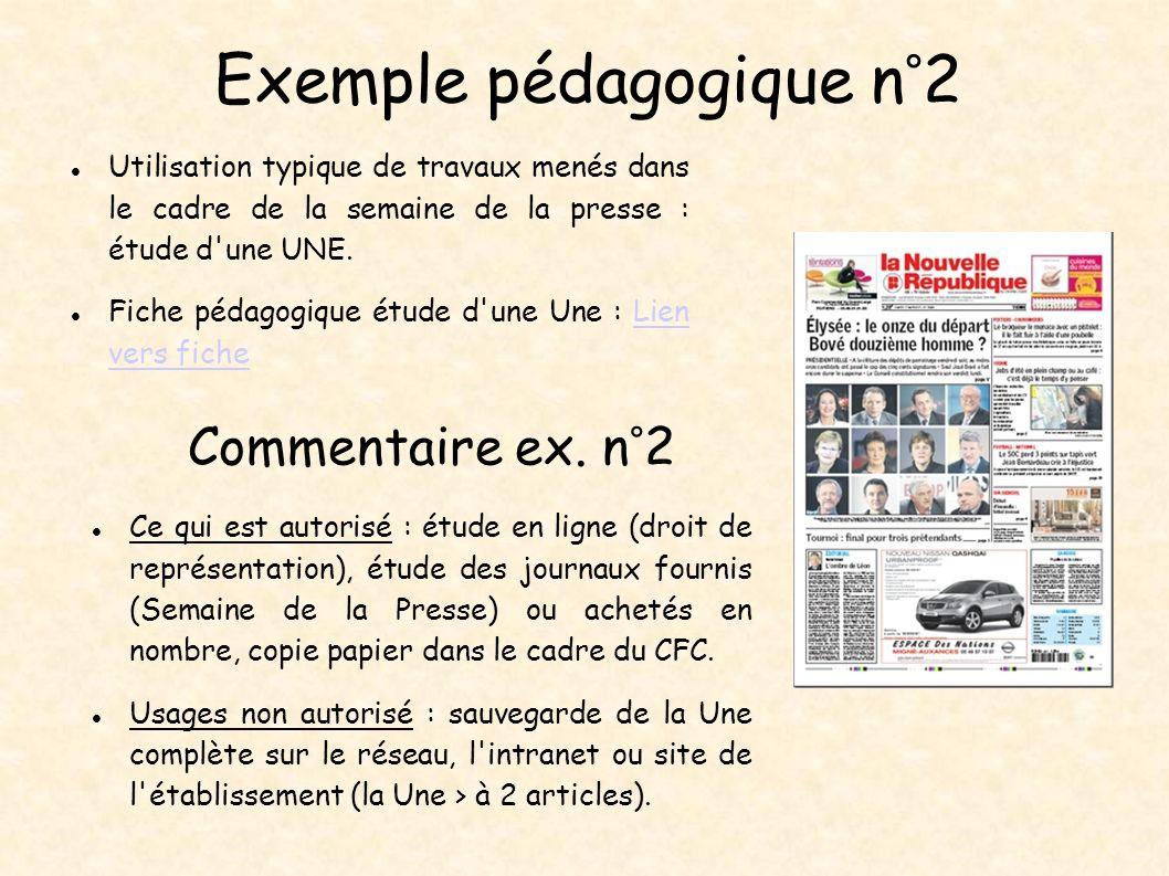 Exemple pédagogique n°2 Utilisation typique de travaux menés dans le cadre de la semaine de la presse : étude d'une UNE. Fiche pédagogique étude d'une