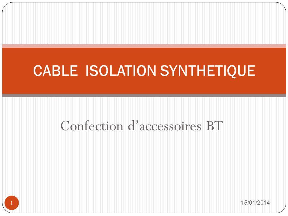 Etanchéité 15/01/2014 12 Eliminer la longueur de câble avec présence deau dans lâme Avant le déroulage 1.