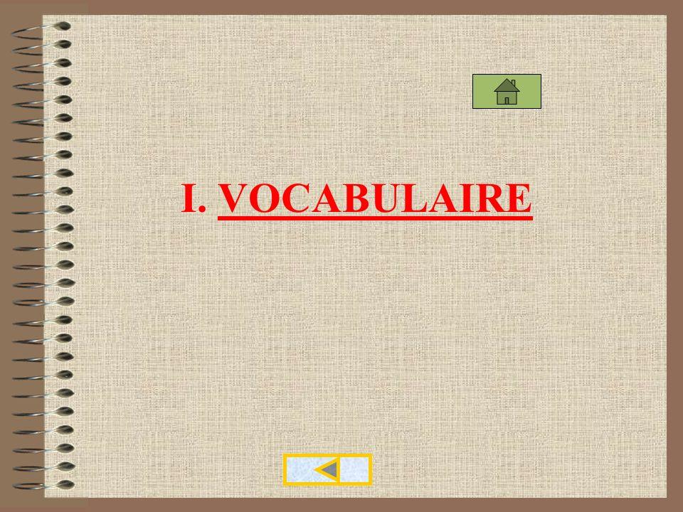 Vocabulaire et tableaux statistiques