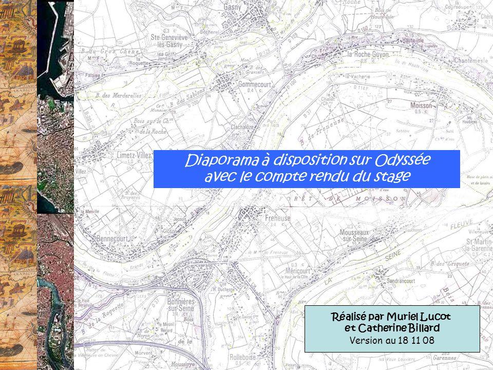Diaporama à disposition sur Odyssée avec le compte rendu du stage Réalisé par Muriel Lucot et Catherine Billard Version au 18 11 08