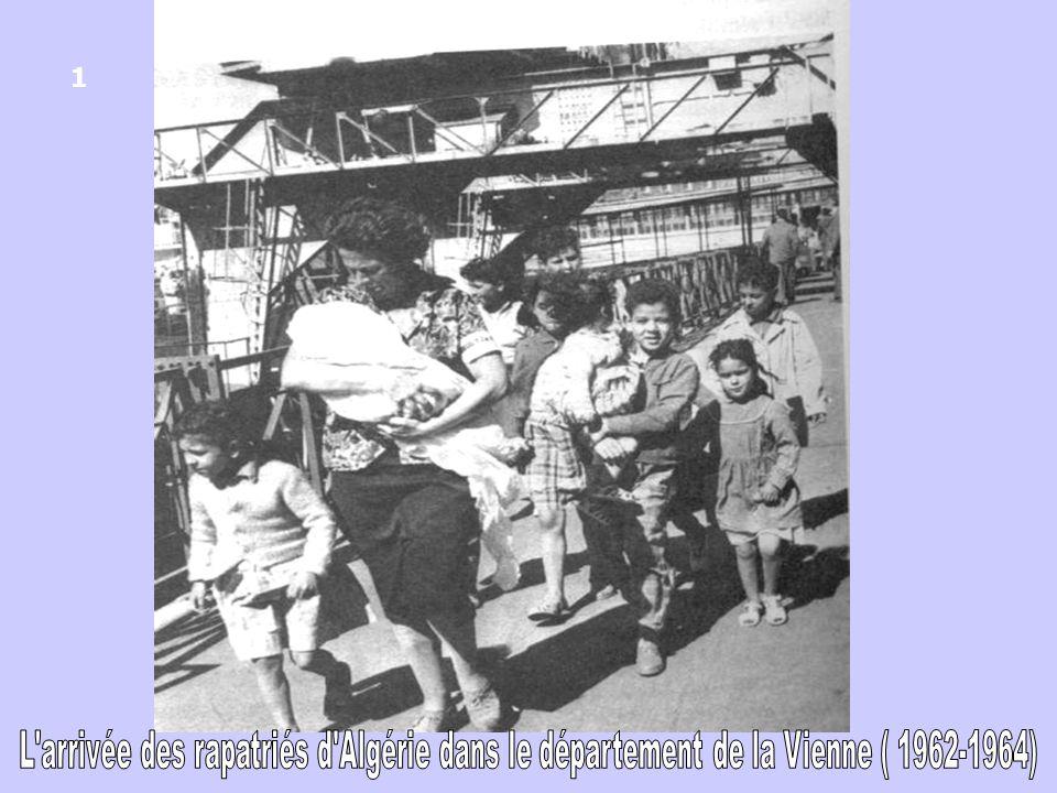 Le camp de la Rye (Le Vigeant) Plus de 900 Harkis hébergés dans un camp au sud du département de la Vienne (près de lIsle-Jourdain ) 11