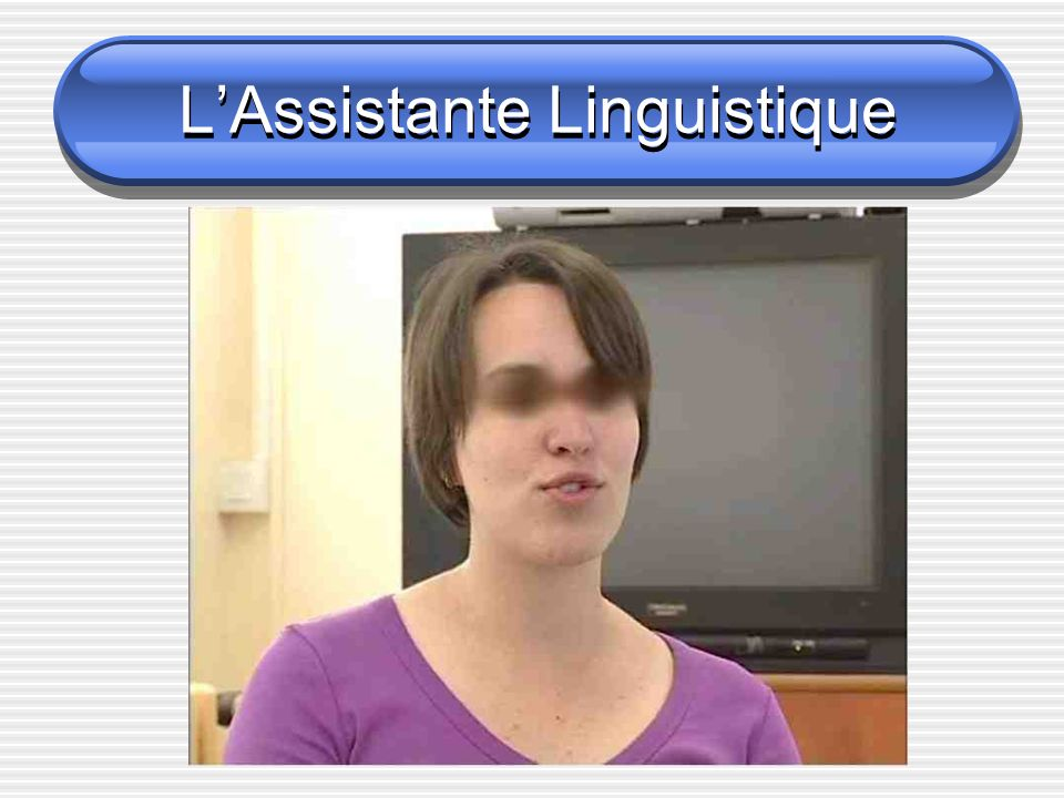 LAssistante Linguistique